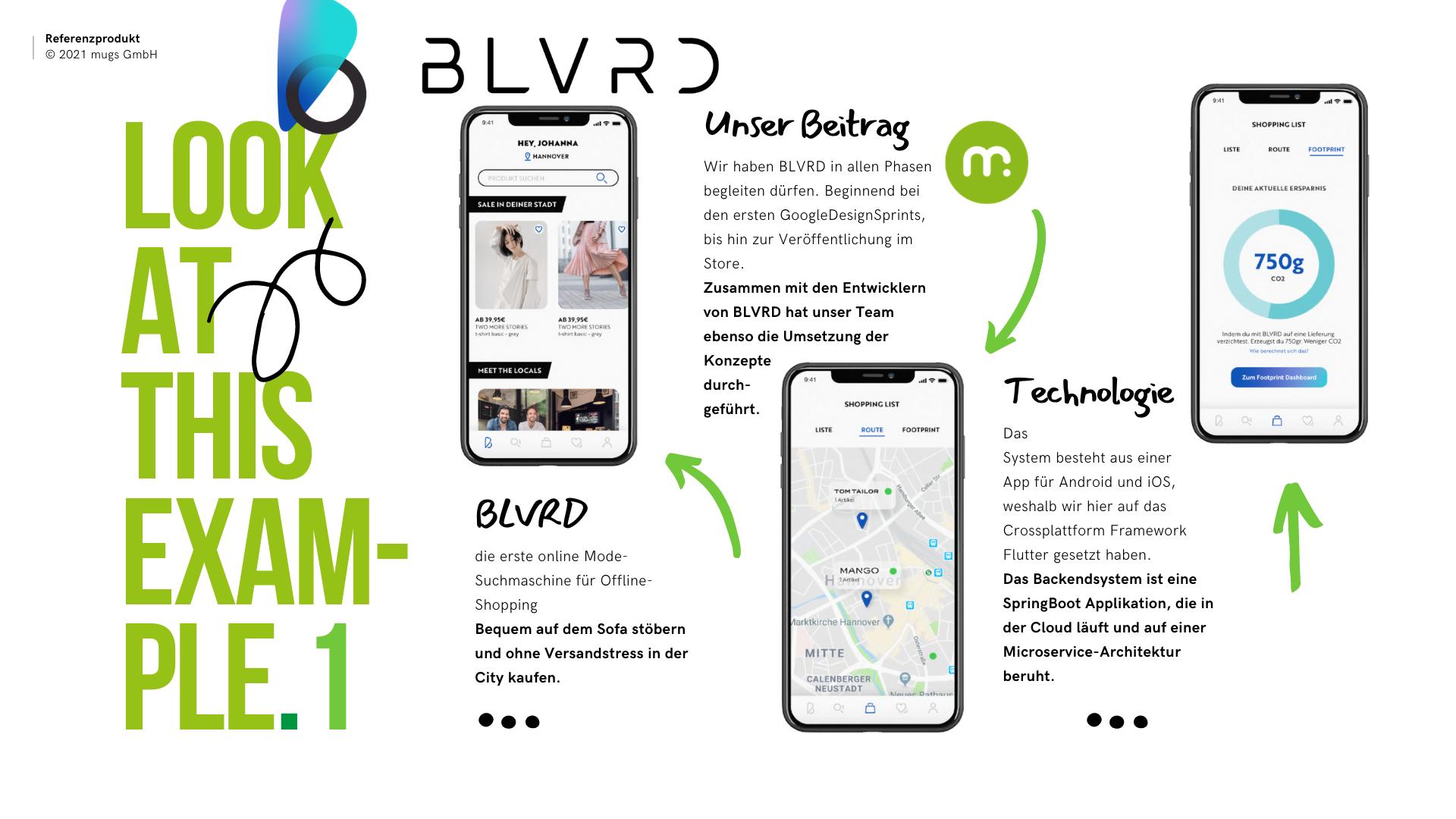 Referenz-Produkt BLVRD