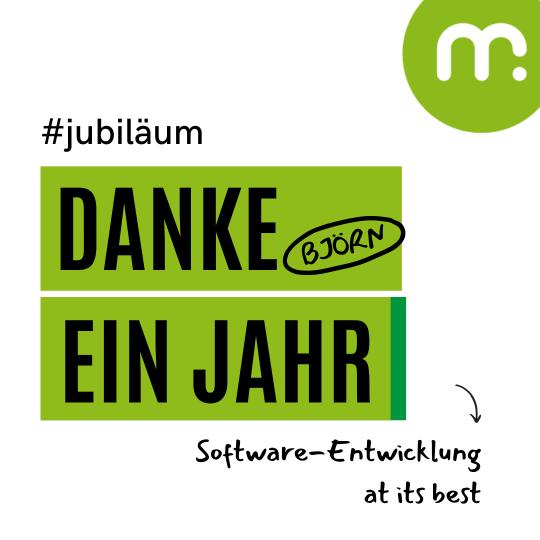 Mitarbeiter-Jubiläum bei mugs GmbH