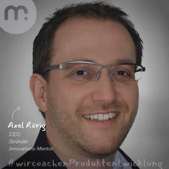 Mentor Axel Rörig