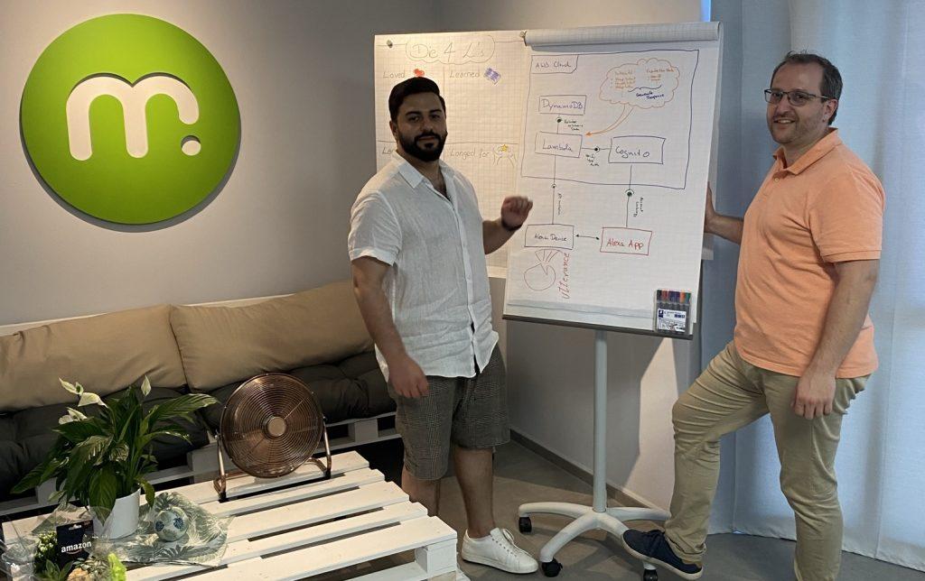 Anmar Aziz und Axel Rörig der mugs GmbH